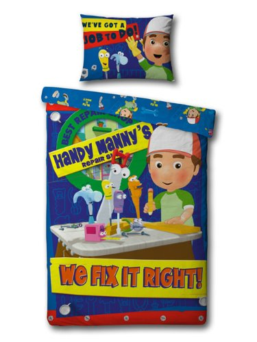 Single Bed Doona Cover Set 'Repair Shop' ~ Handy Manny - SALE