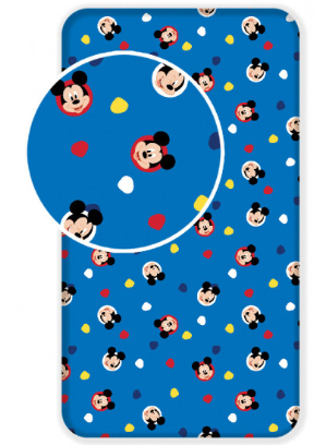 Single Bed Fitted Sheet ~ Mickey Mouse