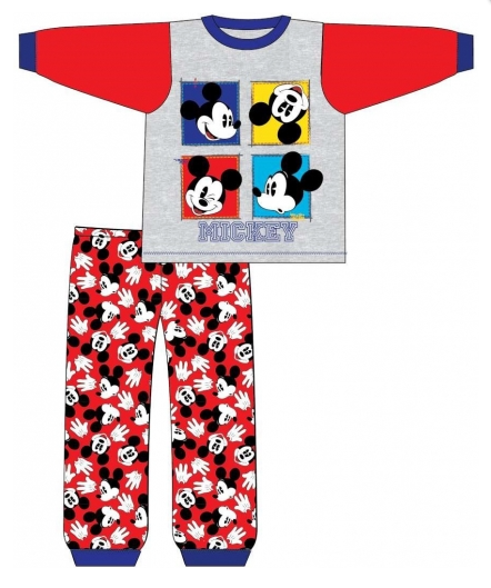 Long Cotton PJ's Inspired By Mickey Mouse