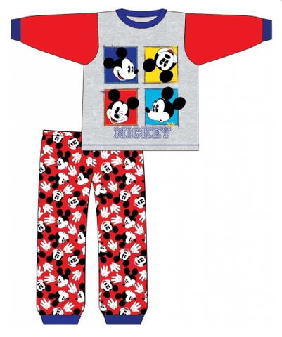 Long Cotton PJ's ~ Mickey Mouse - SALE
