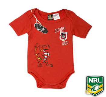 NRL 'Dragons' Summer Onesie - SALE