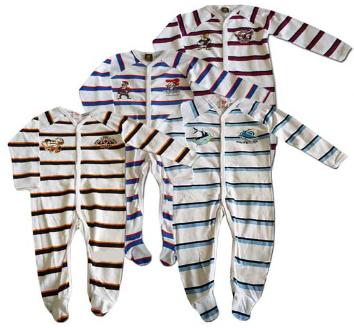 NRL Cotton Onesies