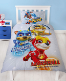 Single Bed Panel Doona Cover Set 'Super' ~ Paw Patrol - PRE ORDER