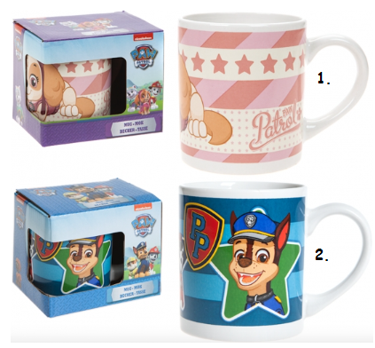 Ceramic Mug In Gift Box ~ Paw Patrol