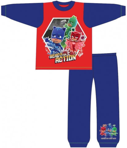 Long Cotton PJ's 'Ready For Action' ~ PJ Masks