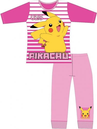 Long Girls Cotton PJ's 'Pikachu' ~ Pokemon