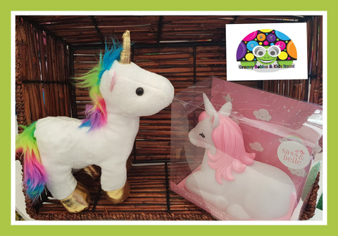 UNICORN White Plush Toy