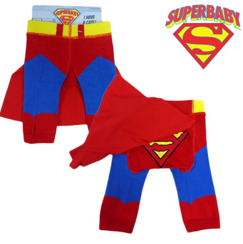 Tights With Cape ~ SuperBaby - SALE