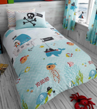 Single Bed Doona Cover Set ~ Under The Sea