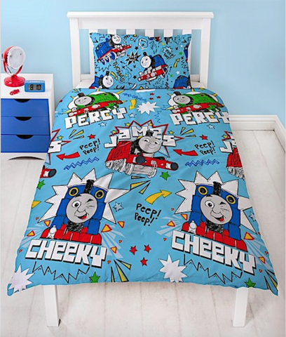 Single Bed Doona Cover Set 'Sketchbook' ~ Thomas & Friends