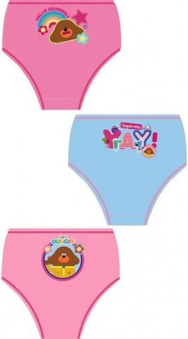 3 Pack Undies 'Girls' ~ Hey Duggee