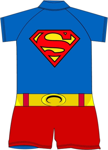 SUPERMAN Sun Safe UV Protection Swimmers