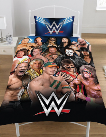 Single Bed Doona Cover Set 'Legends' ~ WWE