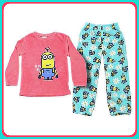 Fleece PJ's 'Girls' ~ Minions - SALE