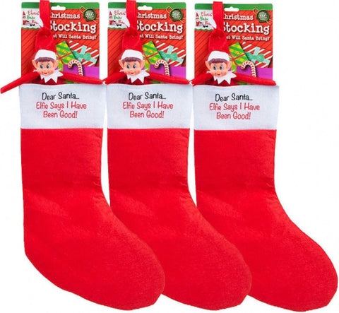 Elf's Behavin' Badly 53cm Christmas Stocking - SALE