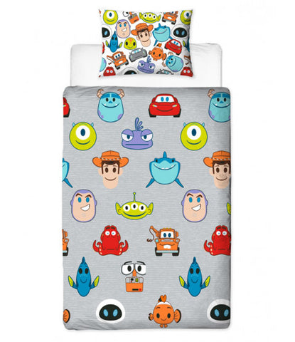 Single Bed Doona Cover Set 'Emoji' ~ Disney Pixar - PRE ORDER