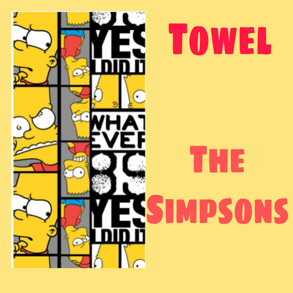 Towel ~ The Simpsons