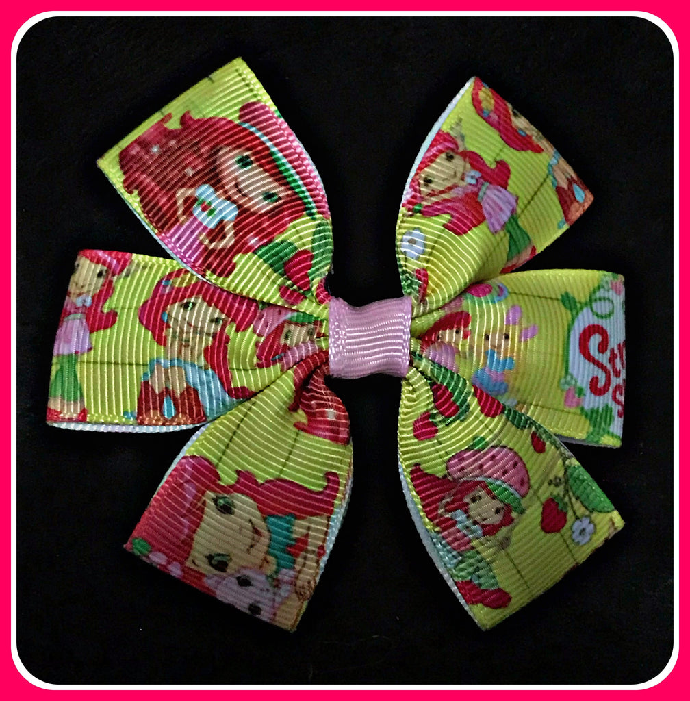 STRAWBERRY SHORTCAKE Hair Clips Set Of One
