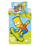 Euro 100% Cotton Single Bed Doona Cover Set 'Bart' ~ The Simpsons