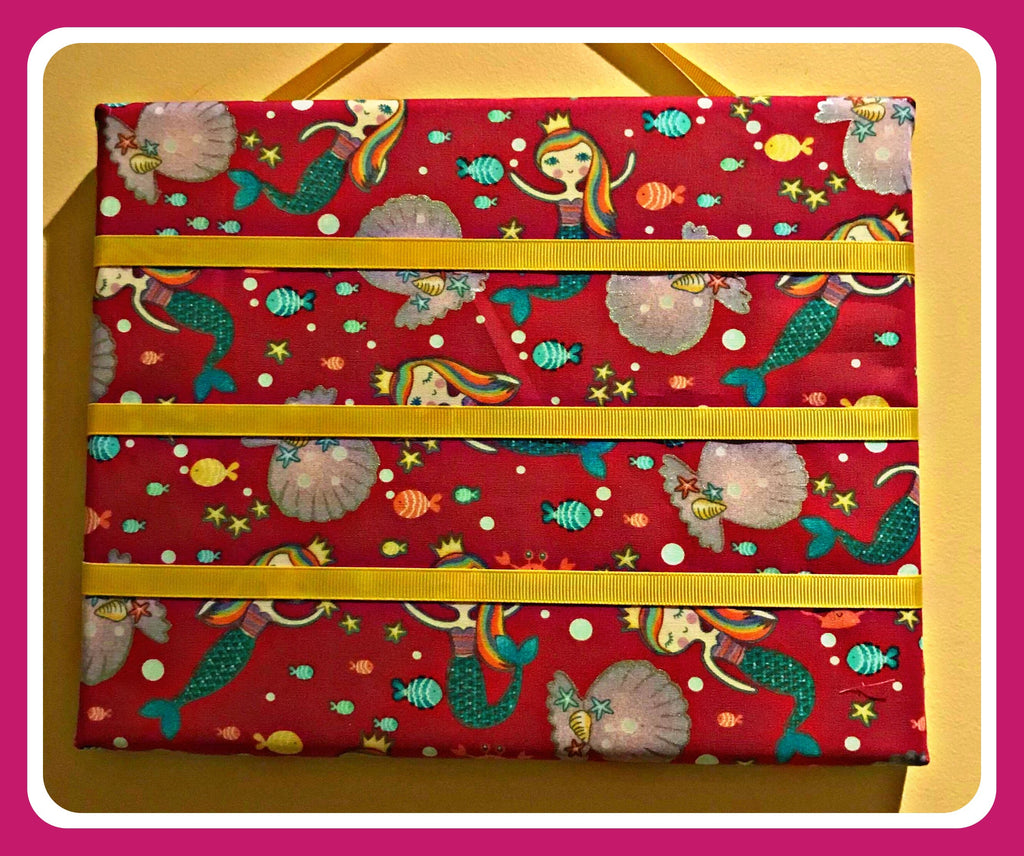 Hair Clips Display Hanger ~ Mermaids
