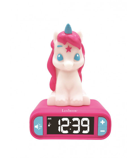 Night Light Alarm Clock ~ Unicorns