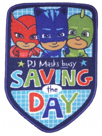 Floor Rug 'Saving The Day' ~ PJ Masks