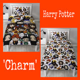 Single Bed Doona Cover Set 'Charm' ~ Harry Potter - PRE ORDER