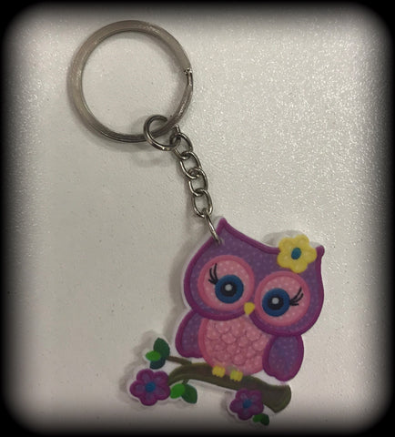 OWL Resin Keyring
