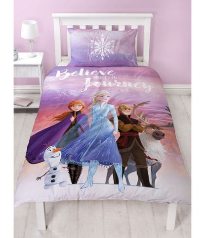 Single Bed Doona Cover Set 'Journey' ~ Disney Frozen 2 - PRE ORDER