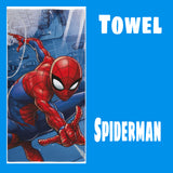 Towel 'City' ~ Spiderman