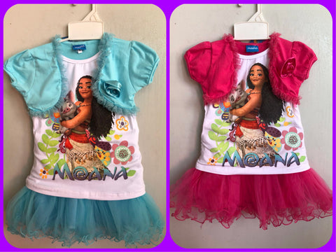 MOANA 2 Piece Dress