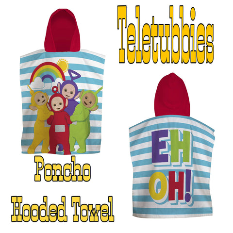 Hooded Towel / Poncho ~ Teletubbies - SALE