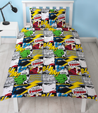 Single Bed Doona Cover Set 'Scribble' ~ Marvel Comics