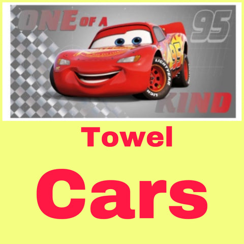 Towel ~ Disney Cars