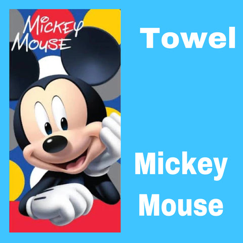 Towel 'Dots' ~ Mickey Mouse - PRE ORDER