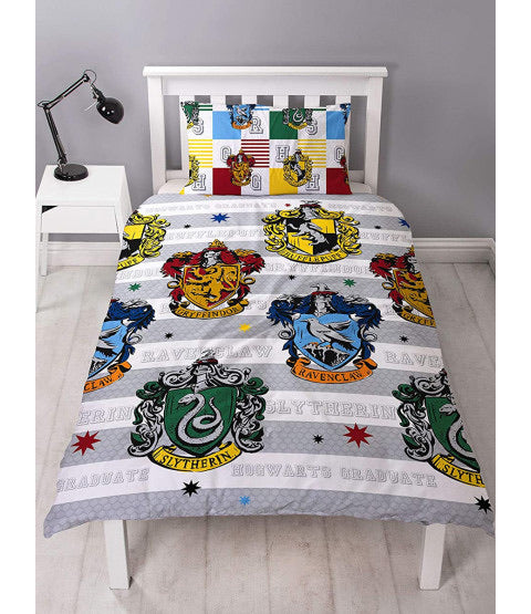 Single Bed Doona Cover Set 'Quarters' ~ Harry Potter
