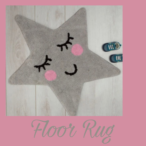 Floor Rug 'Sweet Dreams' ~ Star - SALE
