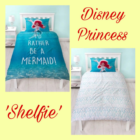 Single Bed Doona Cover Set 'Shelfie' ~ Disney Princess