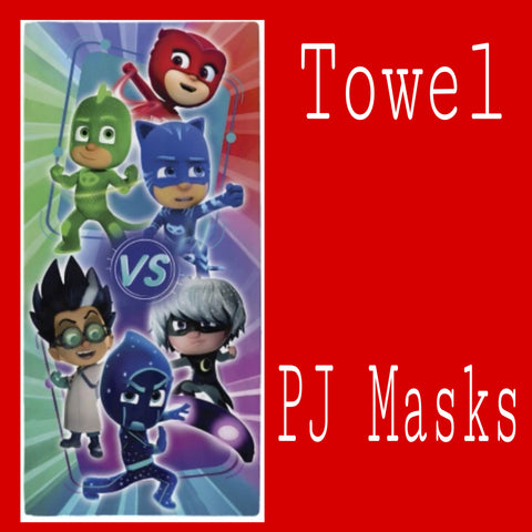 Towel 'Heroes Vs Villains' ~ PJ Masks