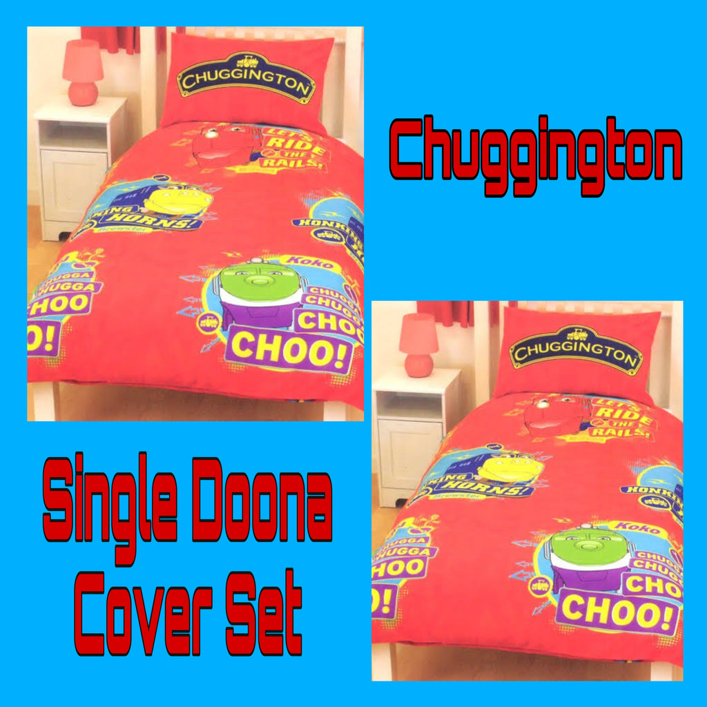 Single Bed Doona Cover Set ~ Chuggington