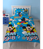 Single Bed Doona Cover Set 'Cool' ~ Mickey Mouse