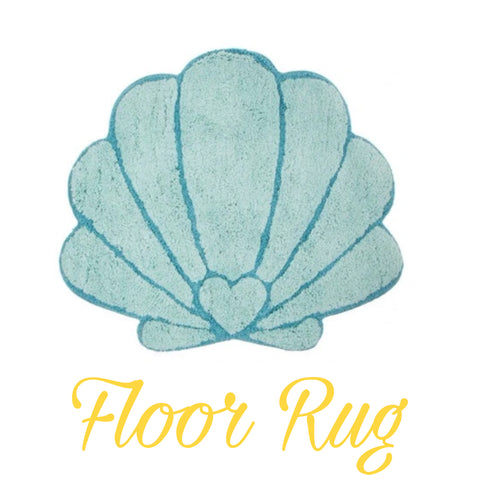 Floor Rug 'Shell' ~ Mermaids - SALE
