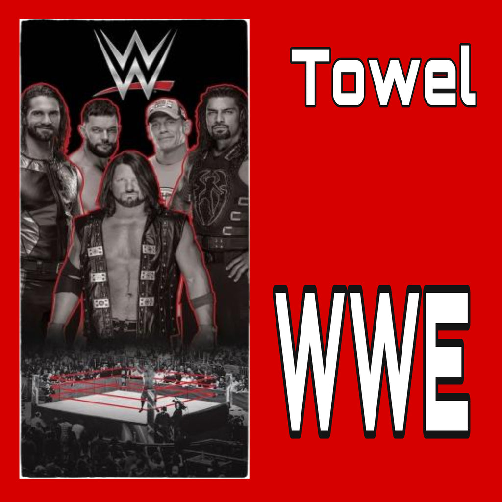 Towel 'Wrestling Ring' ~ WWE - SALE