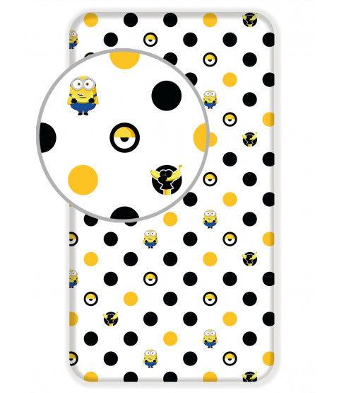 Fitted Single Bed Sheet 'Despicable Me' ~ Minions