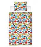 Single Bed Doona Cover Set 'Emoji' ~ Disney Pixar - SALE