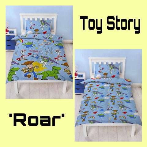 Single Bed Doona Cover Set 'Roar' ~ Toy Story