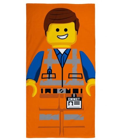 Towel 'Emmet' ~ Lego Movie 2