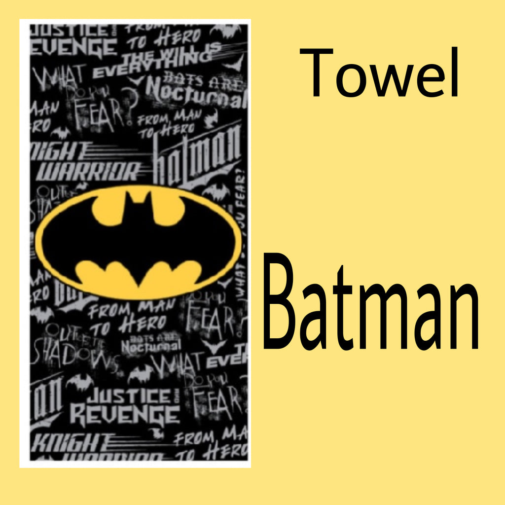 Towel 'Graffiti' ~ Batman