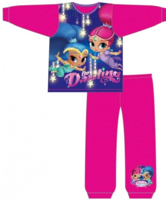 Long Cotton PJ's ~ Shimmer & Shine