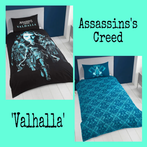 Single Bed Doona Cover Set 'Valhalla' ~ Assassin's Creed